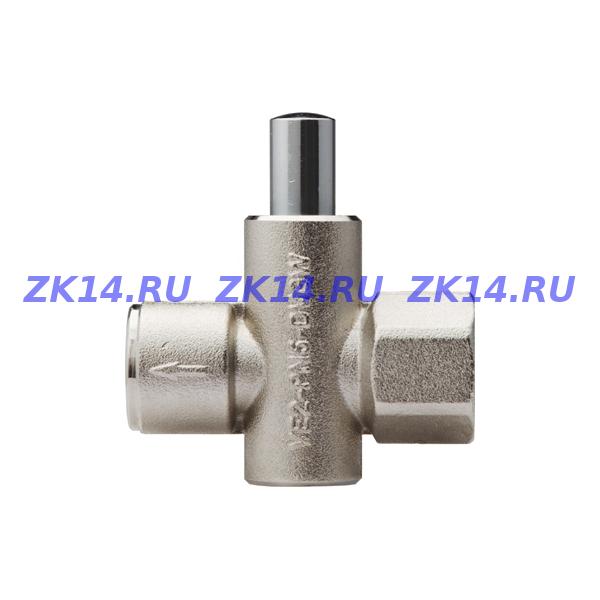 """VE2-2-G1/2"""" (до 5 бар) Клапан запорный кнопочный"""