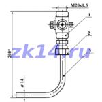 Закладная конструкция ЗК14-2-1-02 1,6-70