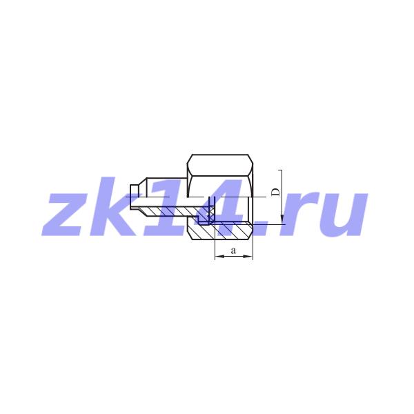 Соединение навертное НСН-22 М20х1,5-Ст.12Х18Н10Т