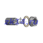 """Соединение металлорукав-труба на резьбе СМТ-12х15 G1/2"""""""
