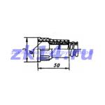 Соединение металлорукав-труба на клею СМТ-12х15