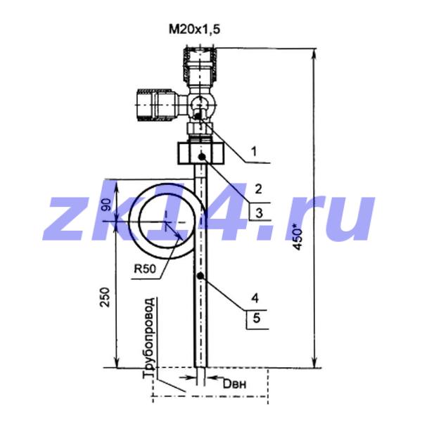 Закладная конструкция ЗК14-2-13-2009 КЗИТ
