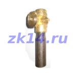 Закладная конструкция ЗК14-2-1-2009 отборного устройства давления на t до 70 гр.С