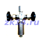 Закладная конструкция ЗК14-2-2-2009 МК40-200П КЗИТн отборное устройство давления прямое на t до 70°С